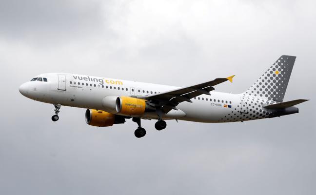 Vueling desvía a Foronda un avión de Barcelona debido al cierre de Loiu