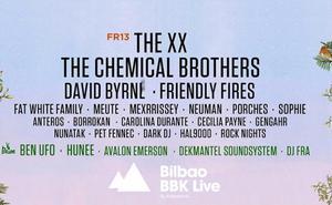 Conciertos del viernes en el BBK Live 2018