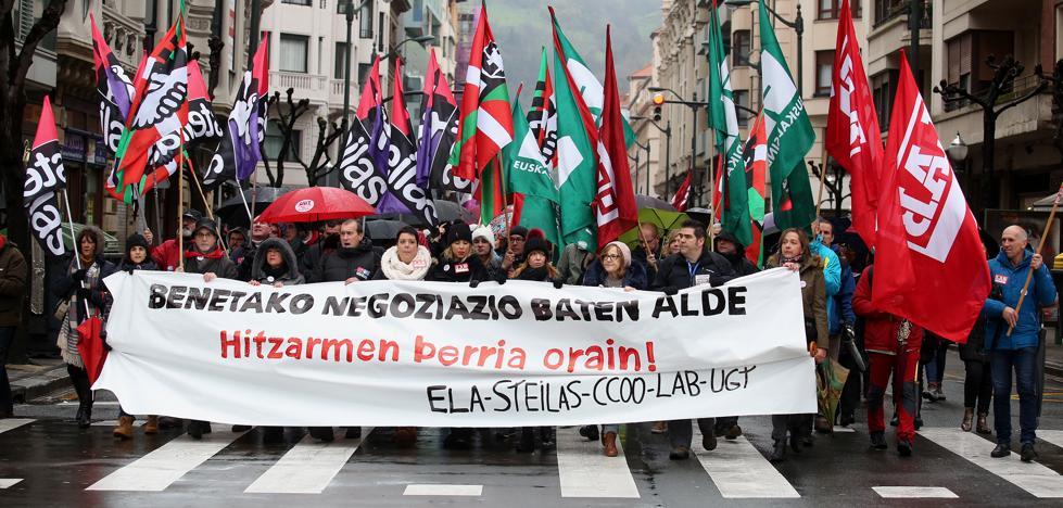 Más del 70% de los trabajadores de colegios concertados secunda la huelga, según los sindicatos