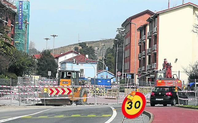 Berango destinará 1,2 millones a las obra de la calle Sabino Arana y al colegio