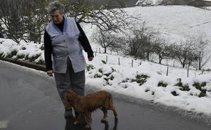 El invierno se resiste a irse: esta noche volverá a nevar en el interior de Bizkaia