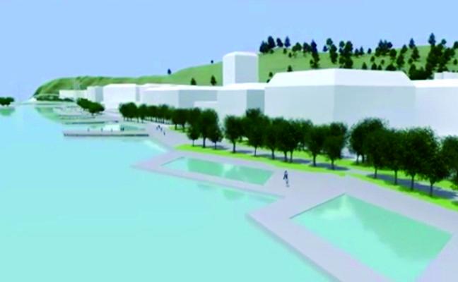 Tres nuevos puentes y cuatro pasarelas peatonales unirán las dos orillas de Bilbao