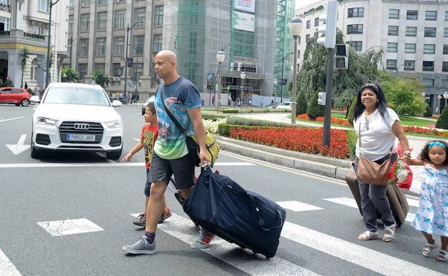 La llegada de turistas extranjeros a Euskadi aumentó un 6% en febrero