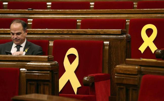 El independentismo desafía de nuevo al Estado y adelanta a esta tarde la investidura de Turull