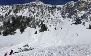 Un montañero vasco, entre las víctimas del alud del Valle de Arán