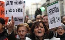 UGT y CC OO convocan nuevas movilizaciones por las pensiones para el 15 de abril