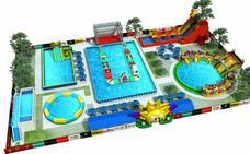 Un parque acuático con olas artificiales se instalará en Iurreta este verano