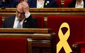 La CUP tumba la investidura de Jordi Turull