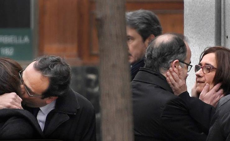 El juez envía a prisión a Turull, Romeva, Forcadell, Bassa y Rull
