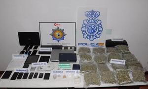 Dos detenidos en Bilbao en una operación que ha desarticulado una red internacional de narcotráfico