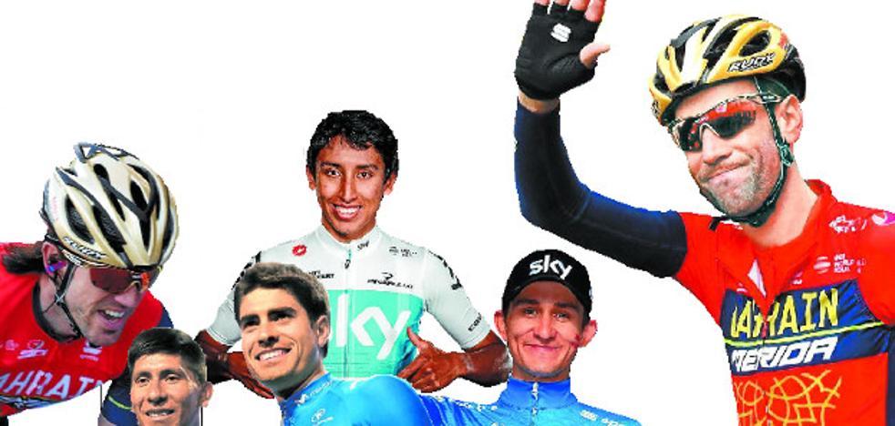 Los 6 favoritos de la Vuelta al País Vasco 2018