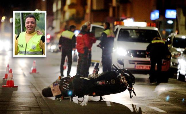 Dolor en la DYA por Rodrigo, el joven motorista que falleció anoche en Vitoria
