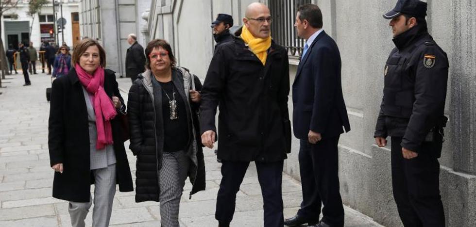 El juez deja entrever en el auto el ingreso en prisión de Turull