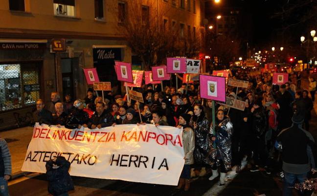 El Gobierno vasco denuncia a vecinos de Asteguieta por impedir a los 'pichis' acceder a un piso
