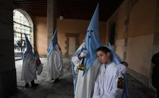 Mal inicio de la Semana Santa bilbaína: la procesión del Borriquito, suspendida por la lluvia