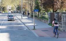 Un nuevo bidegorri conectará El Prado y Mendizorroza