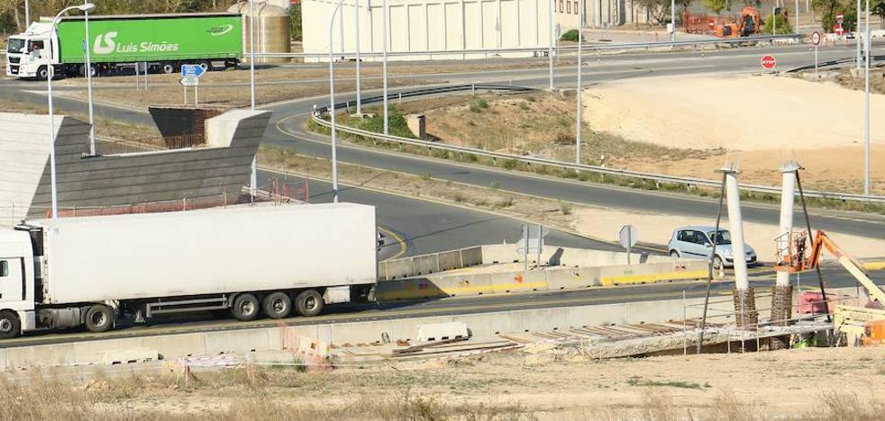 La carretera N-124 sufrirá cortes de tráfico hasta el miércoles