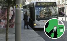 Vitoria pondrá códigos QR en las paradas de autobús para informar de los tiempos de espera