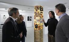 Una exposición transforma en Basauri la poesía en imagen