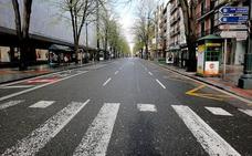 El centro de Bilbao se vacía; el Casco Viejo en plena ebullición