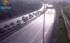 El tráfico recupera su normalidad tras finalizar las retenciones en Muskiz