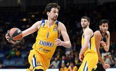 La derrota de Khimki abre al Baskonia la puerta de la sexta plaza