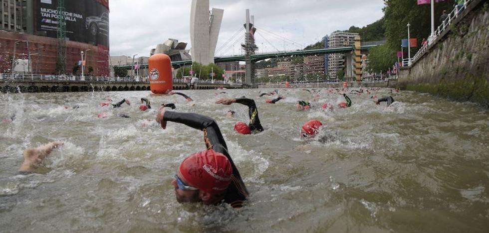 La organización del Bilbao Triathlon cancela la prueba al carecer de «garantías y calidad»