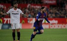 Messi salva la honra del Barça