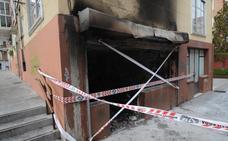 Desalojado un inmueble en Vitoria tras declararse un incendio en una lonja juvenil