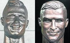 Ronaldo luce nueva cara