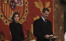 La Familia Real se reúne en la misa por don Juan