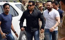 Salman Khan, a la cárcel por cazar fauna protegida