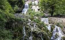 Aldeas poco pobladas y cascadas en la comarca burgalesa de Páramos