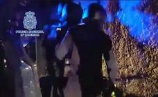 Tiroteo entre narcos y policías en el decomiso de ocho toneladas de hachís en Cádiz