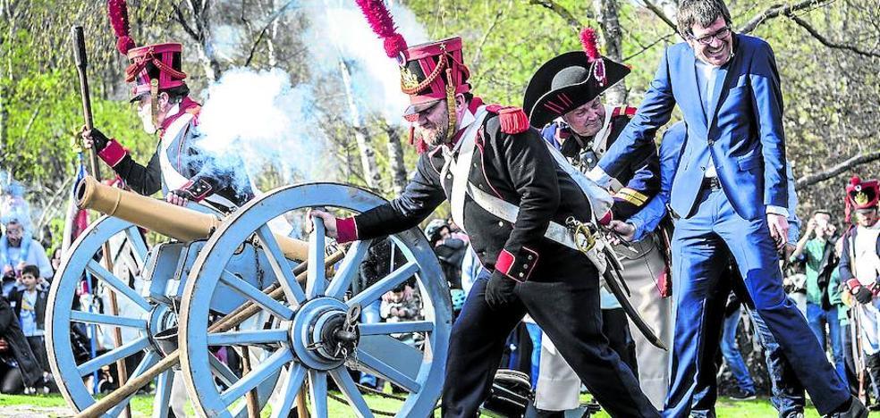 El Mercado Napoleónico ofrece hoy la recreación de una batalla