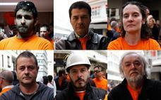 Las caras de los afectados por el conflicto de Productos Tubulares