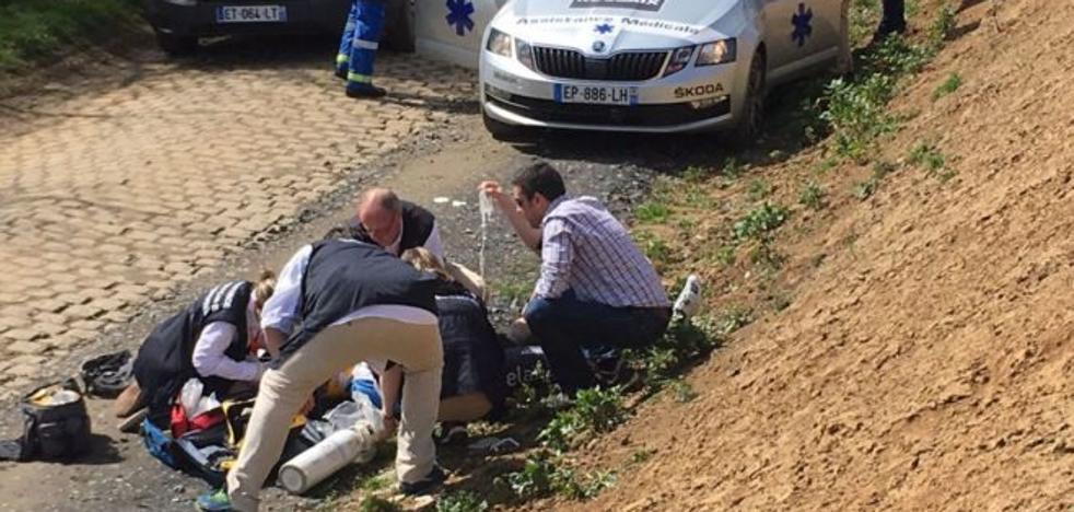 Fallece el ciclista belga Goolaerts tras sufrir un paro cardíaco en la París-Roubaix