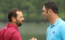 Borrasca en Augusta por una omisión de Sergio García sobre Jon Rahm