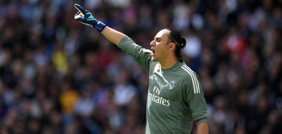 Keylor Navas valida la apuesta de Zidane