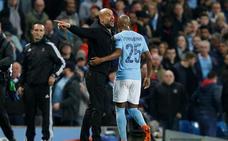 Guardiola: «Le dije al árbitro que era gol, por eso me expulsó»