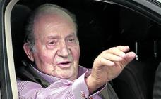 Don Juan Carlos: «Con los cien metros no sé si podré pero andaré mucho mejor»
