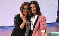 Laura Pausini saca del armario a Toñi Moreno en directo