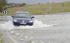 Inundaciones en Álava: «Si no para, tendremos problemas serios»