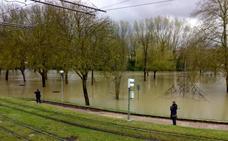 Nivel rojo por inundaciones en Abetxuko
