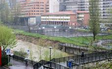 La oposición de Basauri denuncia que el derrumbe del paseo de Soloarte era «evitable»
