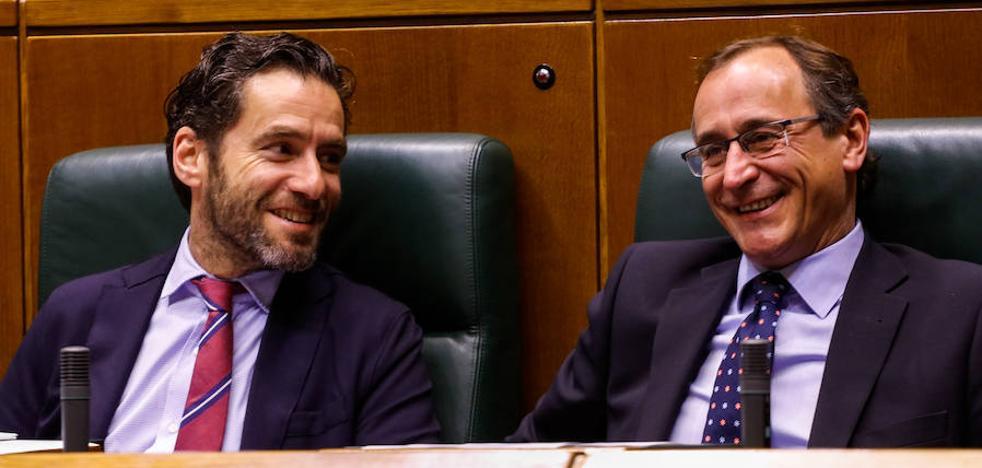 El PP hace un guiño al lehendakari y evita preguntarle por los presupuestos de Rajoy