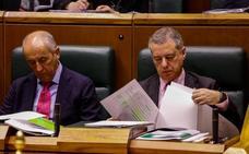 El PNV evita rechazar los Presupuestos de Rajoy en el Parlamento vasco