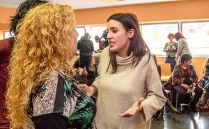 Irene Montero dice en Barakaldo que Podemos debe ser «ejemplar» y defender el esfuerzo de los estudiantes