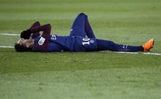 Neymar dice que le falta solo «un mesecito» para recuperarse de su lesión