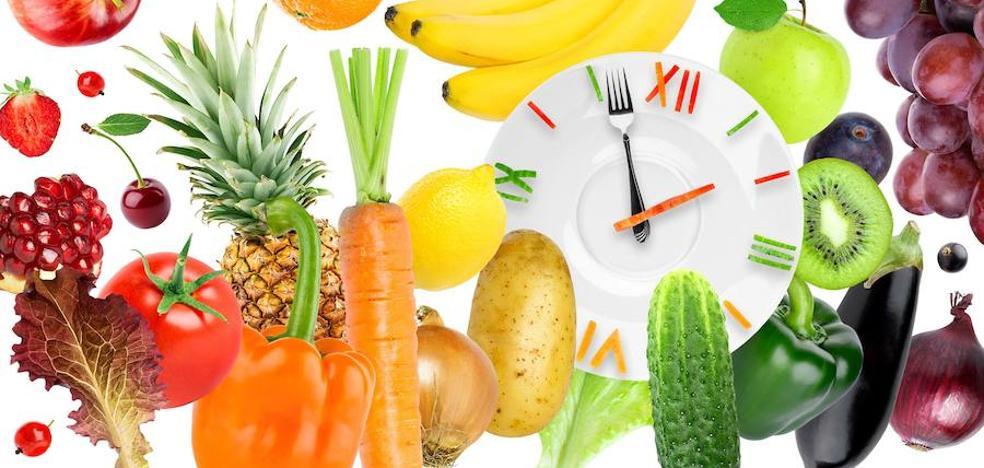 Las horas de la comida